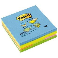 Haftnotiz Post-it 2028A Multi-Notes 76x76mm 3x50Bl + Pagemarker 671-3 25x76mm 3x50Bl