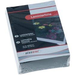 Büroring Laminierfolie 65x95mm 125mic für Visitenkarte