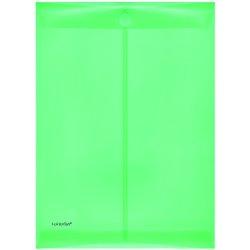 Umschlag PP A4 hoch grün/transluzent 200my