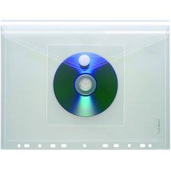 Umschlag PP A4 quer CD-Tasche transparent 200my