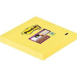 Haftnotiz Post-it 65412SY Super Sticky kanariengelb 76x76mm 90Bl