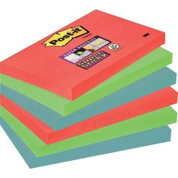 Haftmarker Post-it 6556SJ Super Sticky Notes 127x76mm 6x90Bl