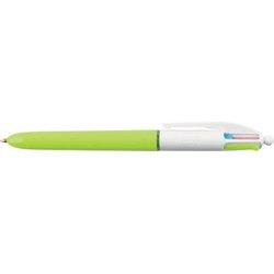 Vierfarb-Druckkugelschreiber 4 Colours Fashion (türkis, lila, pink, hellgrün) 0,40mm