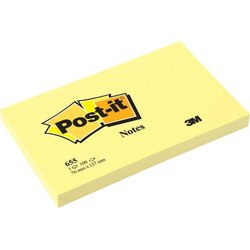 Haftnotiz Post-it 655 gelb 127x76mm 100Bl