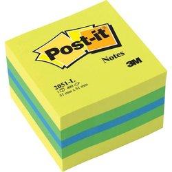 Haftnotiz Post-it  2051-L Limone Mini-Würfel 51x51mm 400Bl
