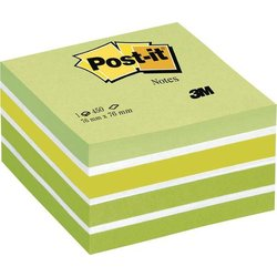 Haftnotiz Post-it Würfel 2028G 76x76mm pastellgrün 450Bl