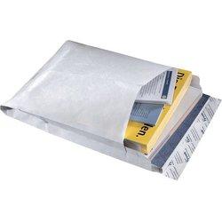 Faltentasche DIN B4 weiß  55g/m² 100St