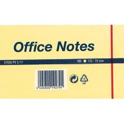 Haftnotiz Tesa 57655 Office Notes 125x75mm gelb 100Bl