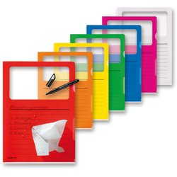 Dokumentenhülle Visa Dossier A4 sortiert