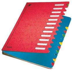 Deskorganizer Leitz 5912-00-25 Color RC A4 1-12 rot