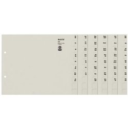 Registerserie A4 A-Z grau