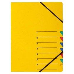 Ordnungsmappe 1-7, gelb