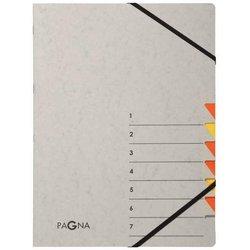 Ordnungsmappe Easy Grey, 1-7, orange