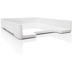 Briefablage eyestyle ABS-Kunststoff A4 weiß/schwarz