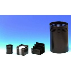 Schreibtisch-Set Wedo 68101 Novum Metall 4-teilig schwarz